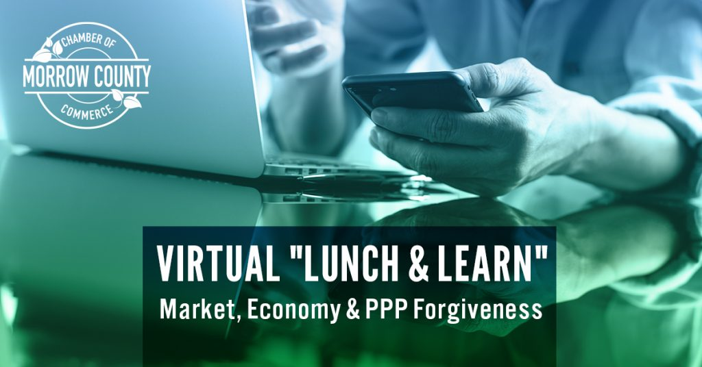 Virtual Lunch And Learn - Economy And PPP Forgiveness - Morrow County, OH - Webinar