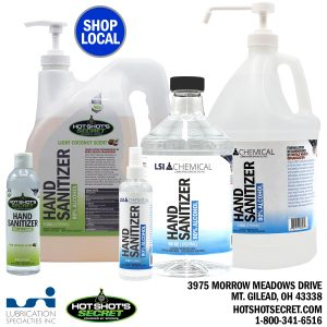Lubrication Specialties, Inc - Hand Sanitizer Made In Morrow County #MadeInMorrow
