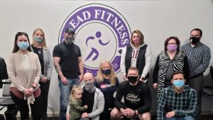 Gilead Fitness Group at Ribbon Cutting