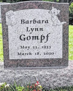Gompf Monuments - Morrow Chamber Featured Member - Barbara Lynn Gompf