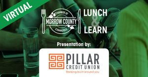 Pillar Credit Union -Marketing - Virtual Lunch And Learn - April 20, 2021 at Noon