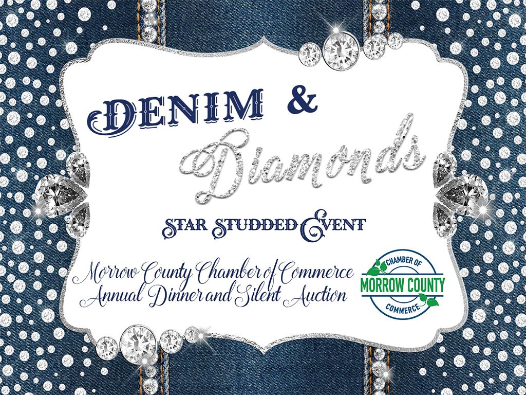 Morrow County Chamber 2021 Annual Dinner Denim And Diamonds